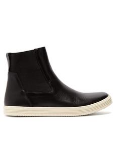 Rick Owens Mastodon leather Chelsea boots
