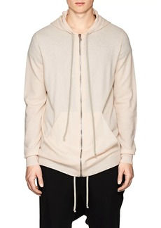 Rick Owens Men's Boiled Cashmere Hoodie