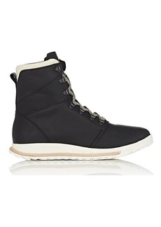 Rick Owens Men's Dirt Grafton Oiled Leather Hiking Boots