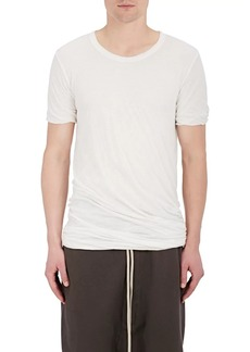 Rick Owens Men's Double-Layered Cotton Jersey T-Shirt