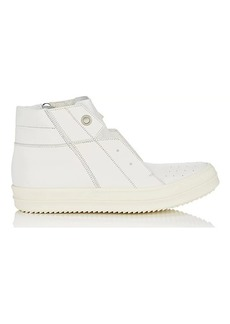 Rick Owens Men's Island Dunk Leather Sneakers