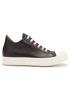 Rick Owens Mid-top leather trainers