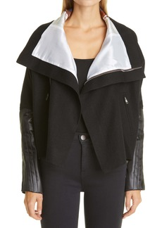 Rick Owens Mixed Media Jacket