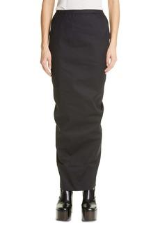 Rick Owens Pillar Maxi Skirt