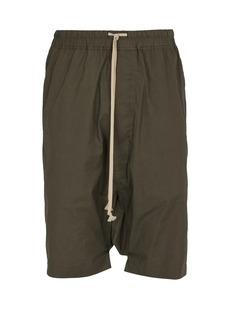 Rick Owens DRKSHDW Pods cotton shorts