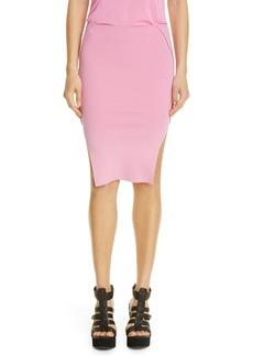 Rick Owens Sacri Body-Con Jersey Miniskirt