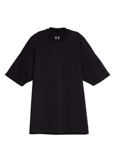 Rick Owens Seamed Cotton T-Shirt