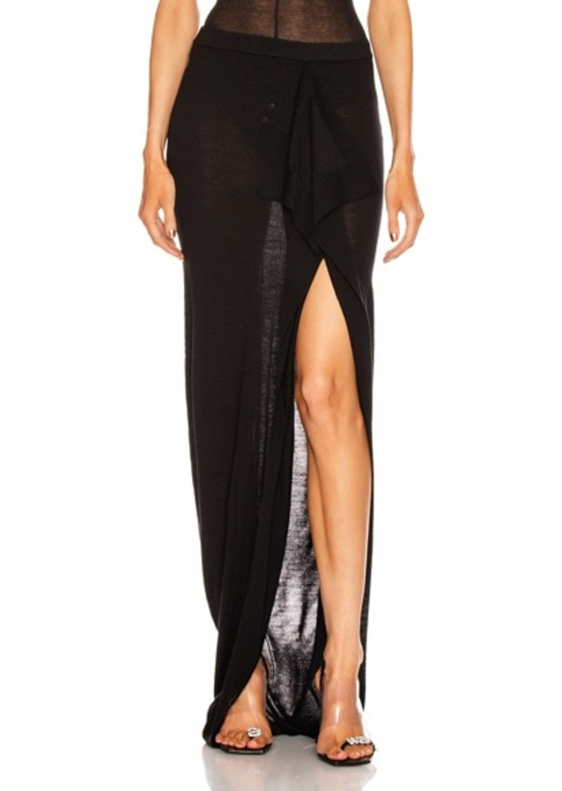 Rick Owens Soft Grace Skirt
