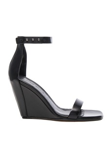 Rick Owens Strappy Leather Wedges