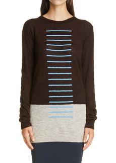 Rick Owens Stripe Colorblock Sweater