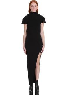 Rick Owens Teresa Dress In Black Viscose