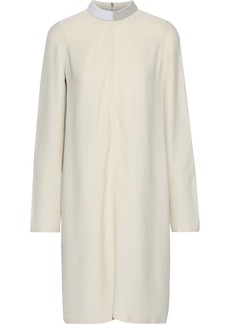 Rick Owens Woman Bead-embellished Crepe De Chine Dress Ivory