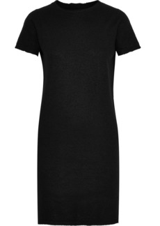 Rick Owens Woman Brushed-cashmere Mini Dress Black