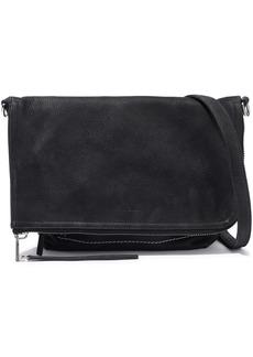Rick Owens Woman Brushed-leather Shoulder Bag Black