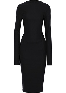 Rick Owens Woman Cady Midi Dress Black