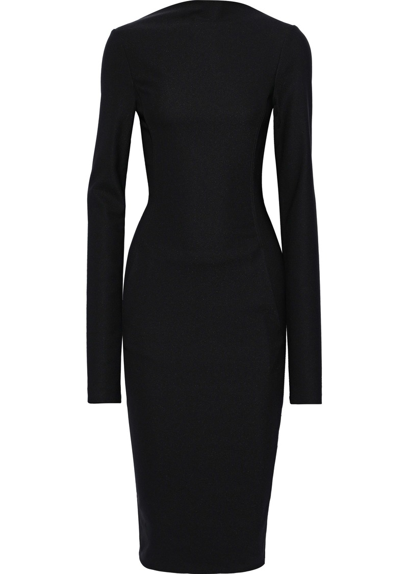 Rick Owens Woman Cady Midi Dress Black