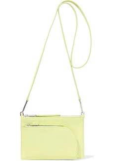 Rick Owens Woman Club Leather Shoulder Bag Chartreuse