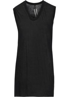Rick Owens Woman Cotton-jersey Top Black