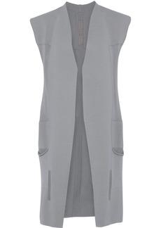 Rick Owens Woman Cotton Vest Gray