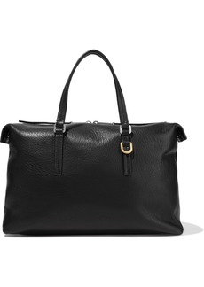 Rick Owens Woman Day Textured-leather Tote Black