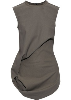 Rick Owens Woman Ellipse Gathered Cady Top Anthracite