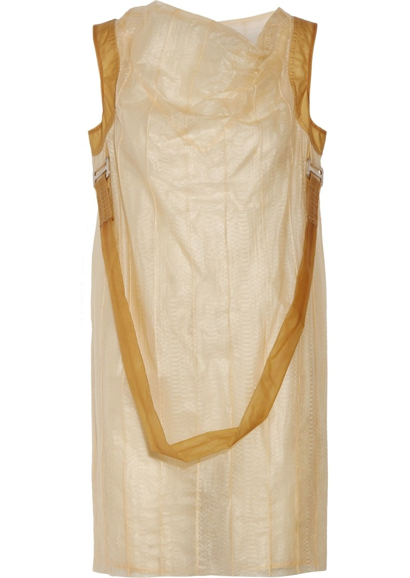 Rick Owens Woman Knee Length Dress Pastel Yellow