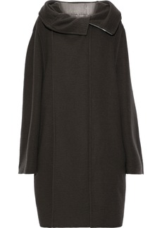 Rick Owens Woman Oversized Cashmere Coat Anthracite