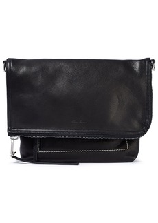 Rick Owens Woman Pebbled-leather Shoulder Bag Black