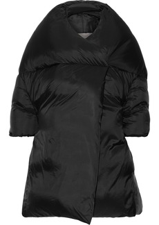 Rick Owens Woman Quilted Shell Down Coat Black
