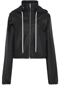 Rick Owens Woman Scuba Hooded Jacket Black