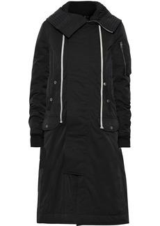 Rick Owens Woman Shell Hooded Coat Black
