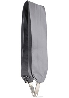 Rick Owens Woman Silk-twill Bag Strap Gray