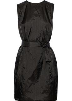 Rick Owens Woman Sisy Shell Mini Dress Dark Gray