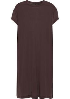 Rick Owens Woman Slub Jersey Tunic Grape