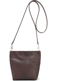 Rick Owens Woman Small Adri Textured-leather Shoulder Bag Merlot