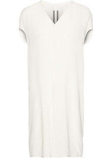 Rick Owens Woman Wool And Silk-blend Tunic Off-white
