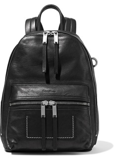 Rick Owens Woman Zaino Textured-leather Backpack Black