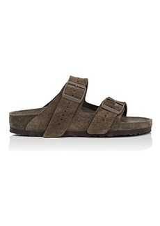 Rick Owens Women's Women's Arizona Exquisite Leather Double-Buckle Sandals