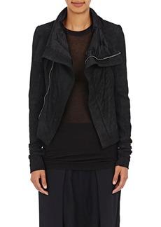 Rick Owens Women's Blistered-Leather Naska Biker Jacket