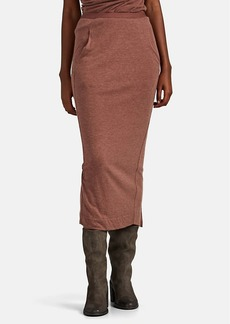 Rick Owens Women's Brushed Jersey Pull-On Skirt