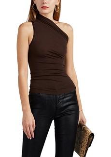 Rick Owens Women's Cashmere-Blend One-Shoulder Top
