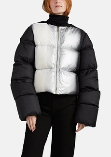 89e03580faa Rick Owens Women's Dégradé Down-Quilted Crop Bomber Jacket