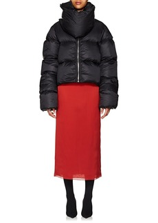 Rick Owens Women's Down Crop Puffer Jacket