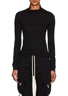 Rick Owens Women's Jersey Turtleneck Sweater