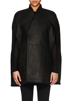 Rick Owens Women's Shearling Cape