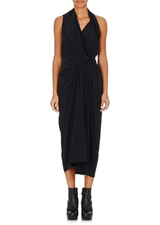 Rick Owens Women's Sleeveless Wrap Dress