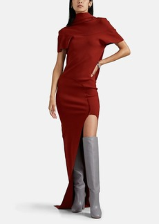 Rick Owens Women's Theresa Draped-Back Gown