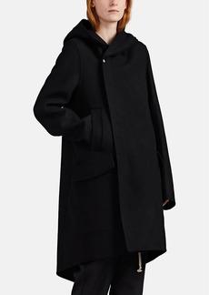 Rick Owens Women's Wool-Blend Hooded Coat