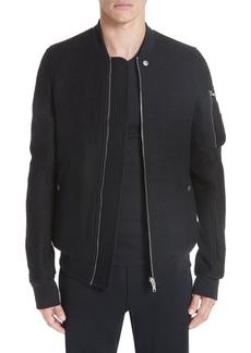 Rick Owens Wool Bomber Jacket