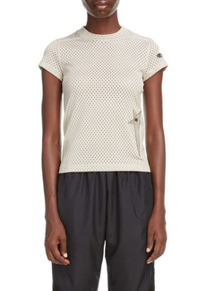Rick Owens x Champion Pentagram Embroidered Mesh T-Shirt